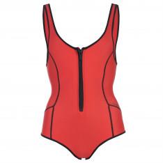 Slazenger Zip Swimsuit Ladies