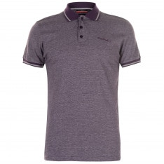 Pierre Cardin Pin Stripe Polo Shirt Mens