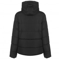 Lee Cooper 2 Zip Bubble Coat Ladies