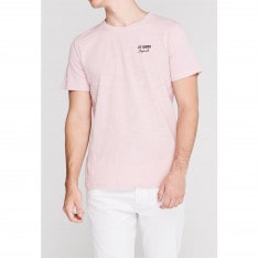 Lee Cooper Slub T Shirt Mens