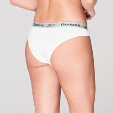 Reebok 5 Pack Briefs Ladies