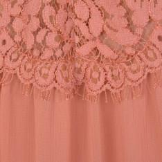 PERSEVERANCE LONDON Lace Panel Maxi Skirt