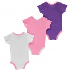 Converse Romper Suits 3 Pack Baby