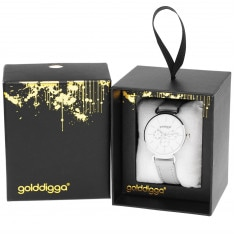 Golddigga Numberless Watch Ladies