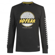 No Fear Custom Motox Long Sleeve T Shirt Mens