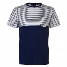 Pierre Cardin Stripe T Shirt Mens