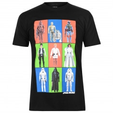Character Star Wars T Shirt Mens