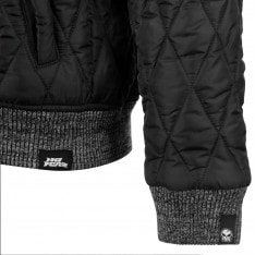 No Fear Quilted Bomber Jacket Mens