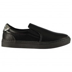 Fabric Aruna Slip On Ladies Trainers