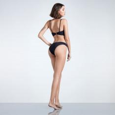 Firetrap Blackseal Lazer Cut Bikini Bottoms