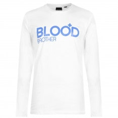 Blood Brother Fight Club Long Sleeve T Shirt