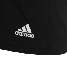 Adidas Essentials 3 Stripe T Shirt Ladies