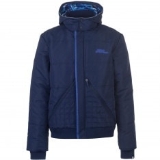 No Fear Padded Bomber Jacket Mens