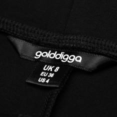 Golddigga Panel Jeggings Ladies