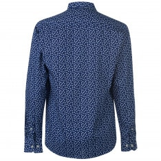 Pierre Cardin Floral Long Sleeve Shirts Mens
