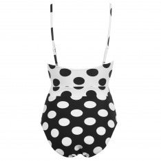 Figleaves Marilyn Non Wired Tie Side Swimsuit