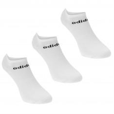 Adidas No Show 3 Pack Trainer Socks Ladies