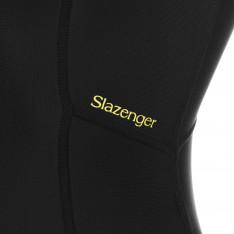 Slazenger Zip Short Sleeve Swimsuit Ladies
