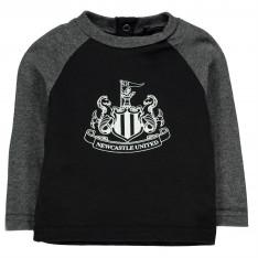 NUFC Crest Long Sleeve T Shirt Baby Boys