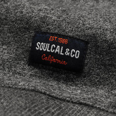 SoulCal Logo Zip Top Mens