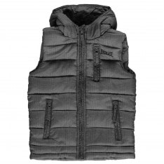 Everlast Junior Boys All Over Checked Print Gilet