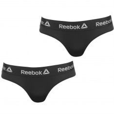 Reebok 2 Pack Briefs Ladies