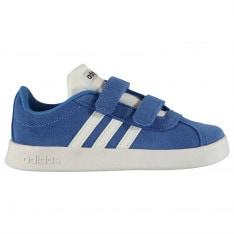 Adidas VL Court Suede Trainers Infant Boys