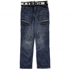 Airwalk Belted Cargo Jeans Junior Boys
