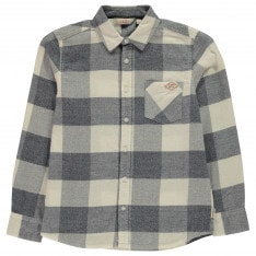 Lee Cooper Check Long Sleeve Shirt Junior Boys