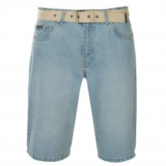 Pierre Cardin Web Belt Shorts Mens