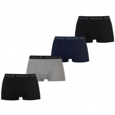 Reebok 4 Pack Nilson Trunks Mens