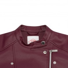 Lee Cooper Biker PU Jacket Ladies