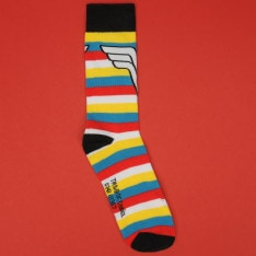 DC Comics 3 Pack Crew Sock Ladies