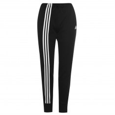 Adidas 3 Stripe Tracksuit Bottoms Ladies