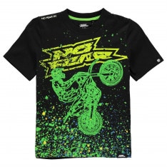 No Fear Core Graphic T Shirt Junior Boys