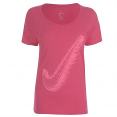 Nike Swoosh QTT T Shirt Ladies