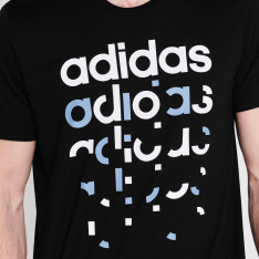 Adidas Fragment Linear T Shirt Mens
