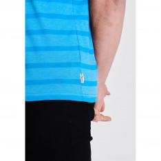 Lee Cooper Stripe Logo T Shirt Mens