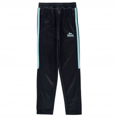 Lonsdale 2 Stripe Tapered Tracksuit Bottoms Girls