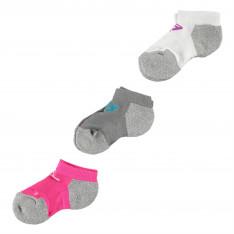 Skechers 3 Pack Low Cut Socks Girls