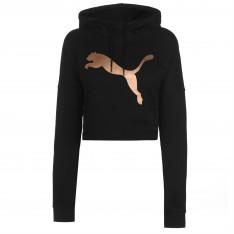 Puma Crop Hoodie Ladies