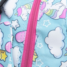 Star Graphic Backpack with Pencil Case