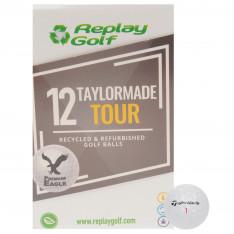Replay Golf TaylorMade Tour Golf Balls 12 Pack