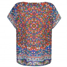 Mes Demoiselles Gypsy Print Top
