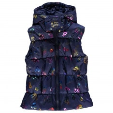 Character Gilet Set Girls