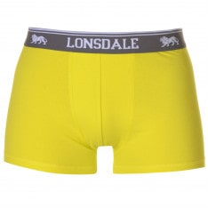 Lonsdale 2 Pack Trunks Mens