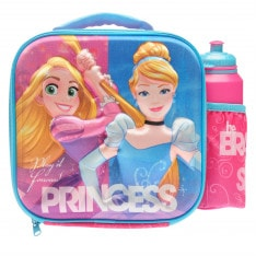 Character Lunch Bag and Bottle