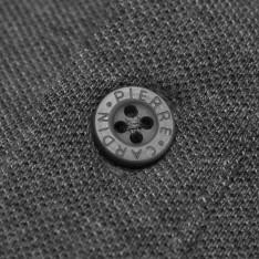 Pierre Cardin Plain Long Sleeve Polo Shirt Mens