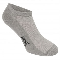 Lonsdale 5 Pack Trainer Socks Mens