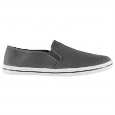 Slazenger Junior Canvas Slip On Shoes